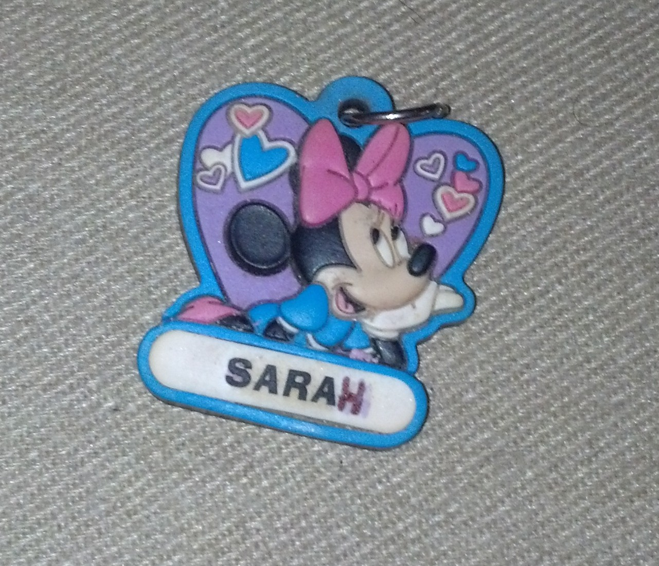 minnie disney keychain Sarah