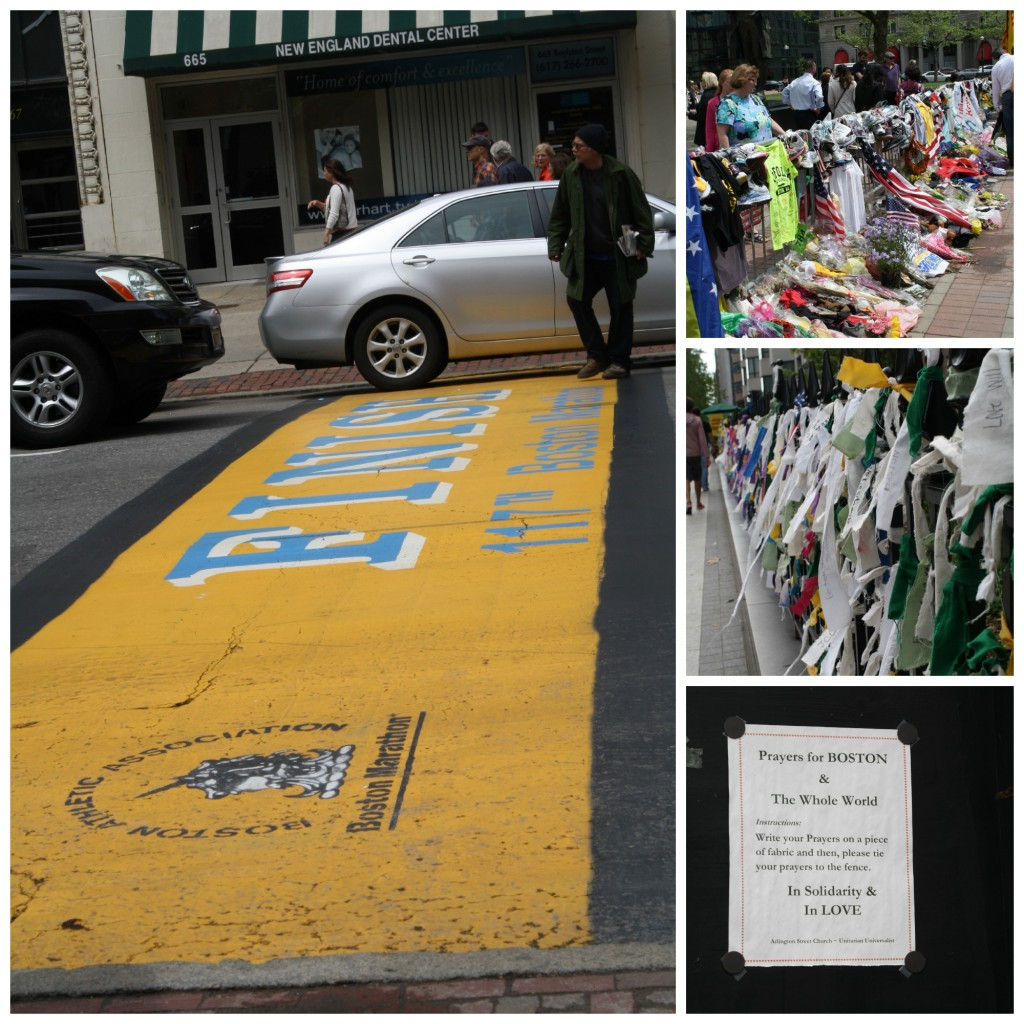boston marathon flowers remember 