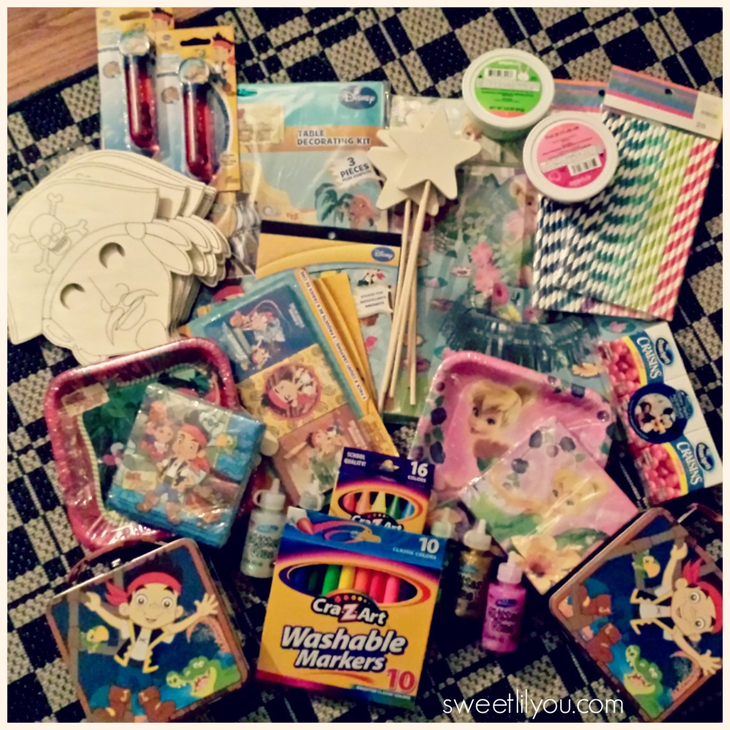 #DisneySide party supplies