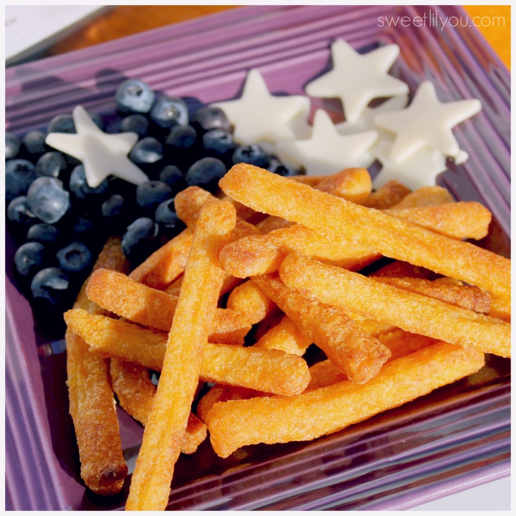 Veggie Fries are a delicious side dish! A great way to get your daily dose of veggies