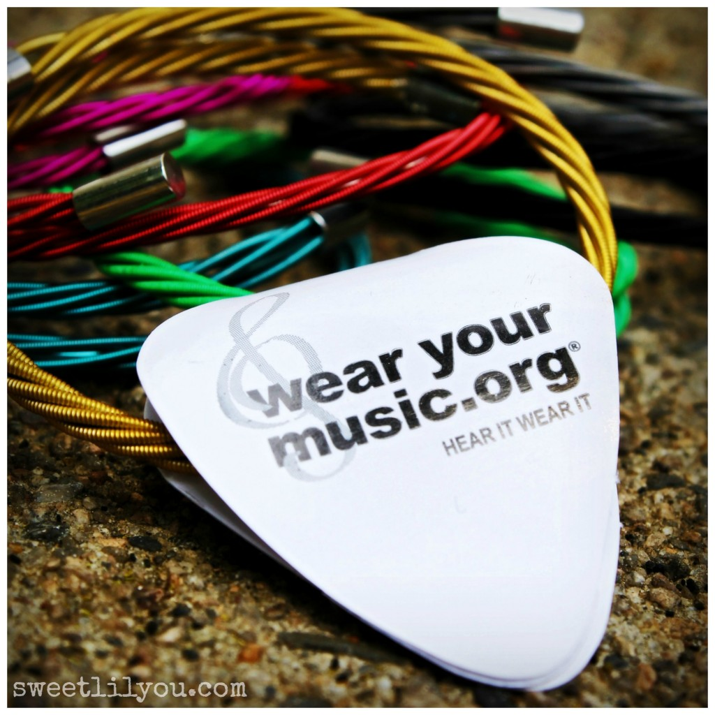 wear your music wearyourmusic.org  Guitar string bracelets benefitting charity! #jewelry