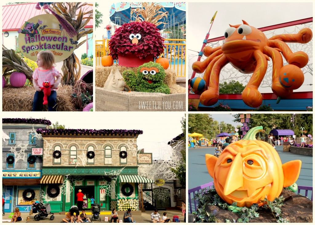The Halloween decorations were fun and creative! We loved seeing the park decked out for the season!