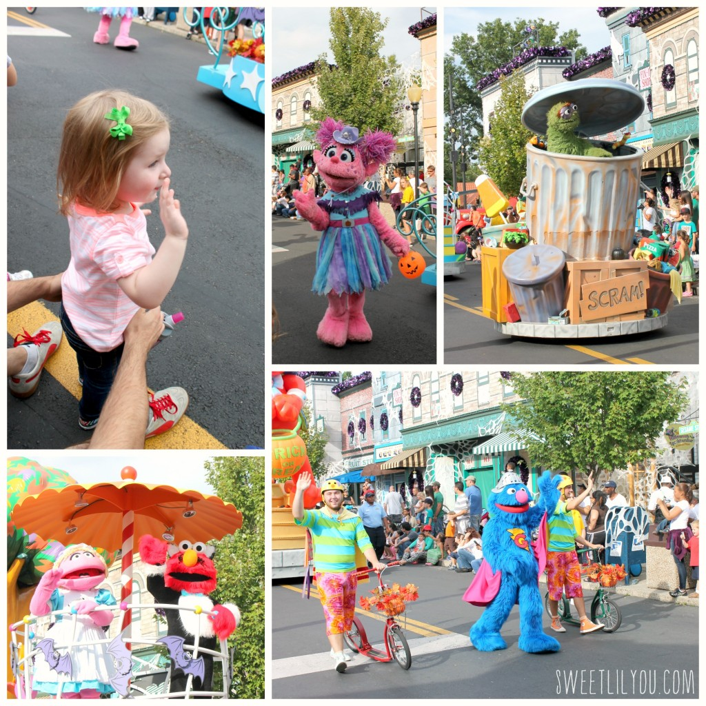 The Halloween Parade at Sesame Place