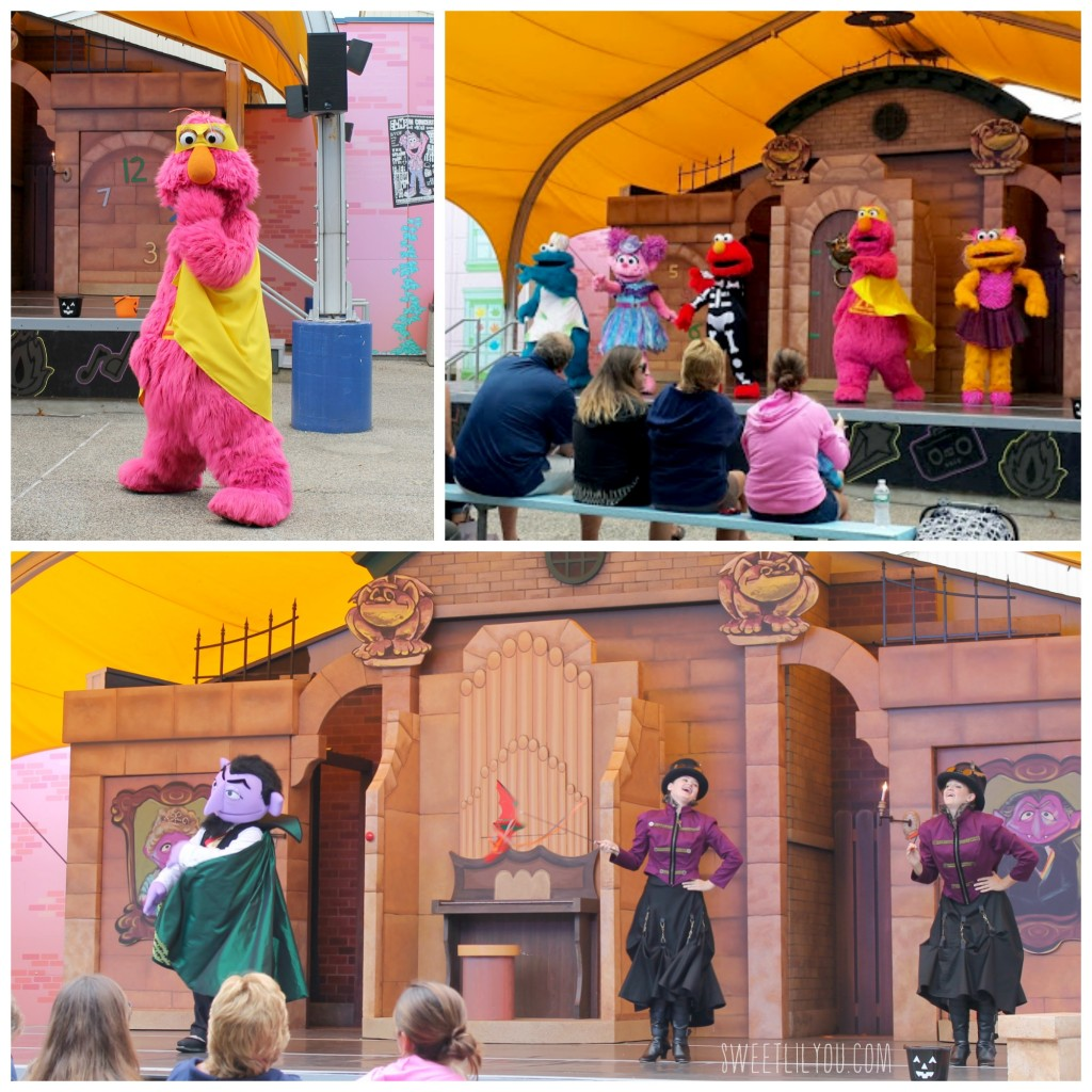 The Who Said Boo! Show at Sesame Place