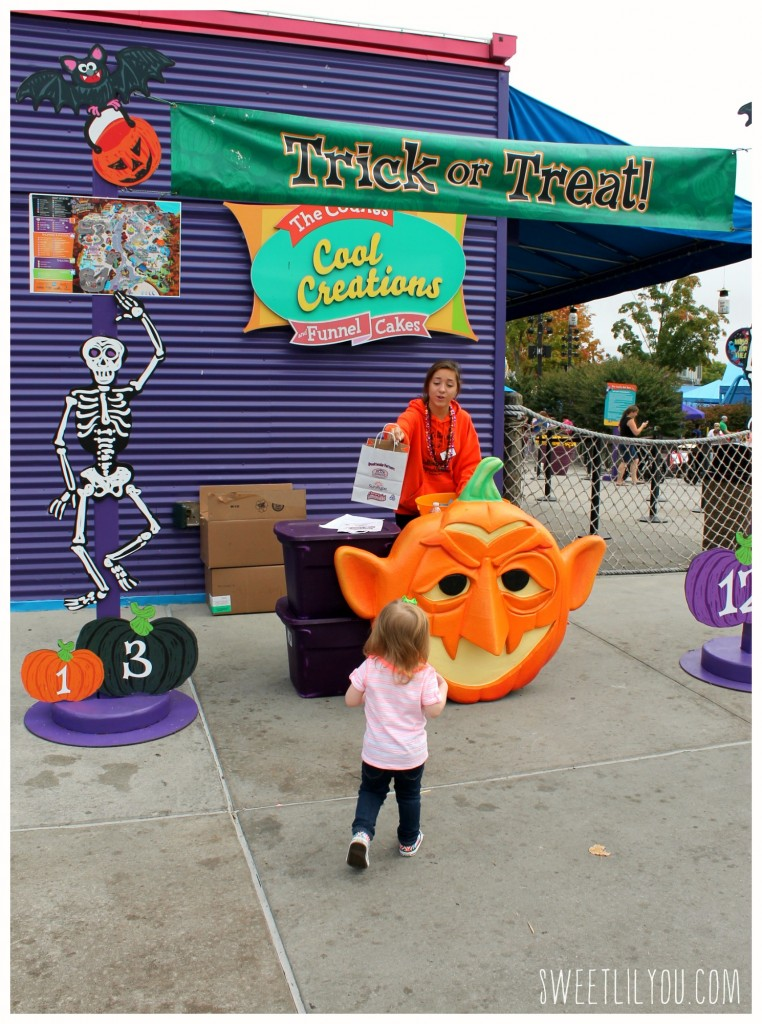 Trick or Treat at Sesame Place