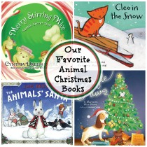 Animal Christmas Books