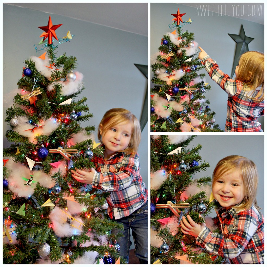 Planes Themed Christmas tree! #PlanesToTheRescue #ad