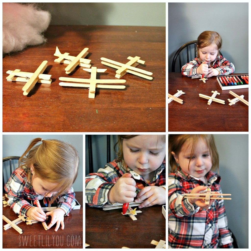 wooden airplane crafts #PlanesToTheRescue #ad