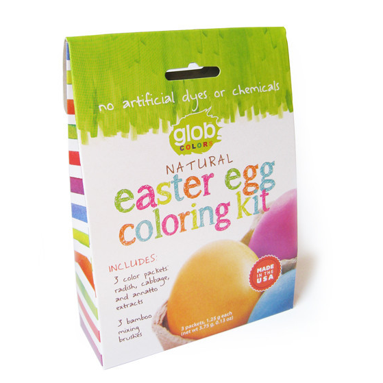 Glob Colors Natural Easter Egg coloring kit