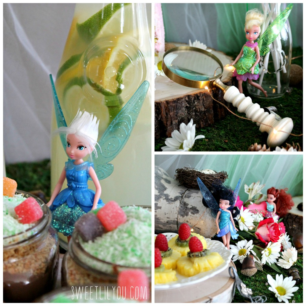 The Pixe Hollow Fairies had fun at the NeverBeast party! From SweetLilYou.com