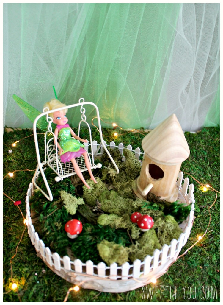 Tinker Bell Fairy Garden Party Craft! From SweetLilYou.com