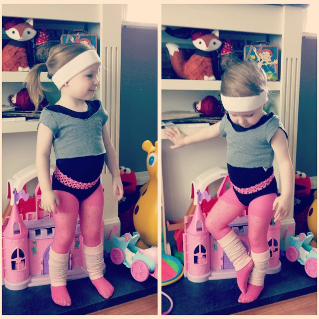 80s workout costume for kids
