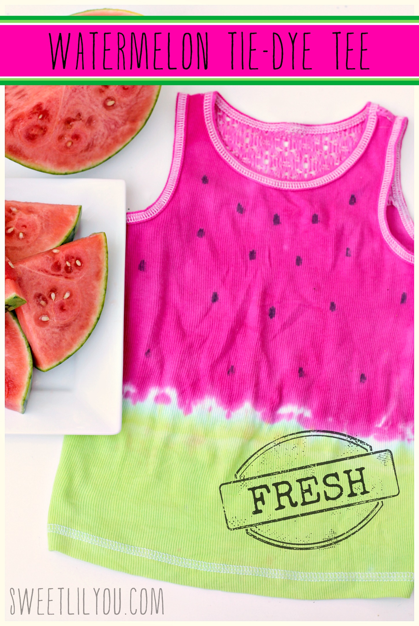 how to make a perfect tie dye shirt