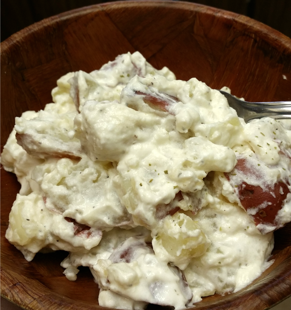 No mayo potato salad summer side dishes