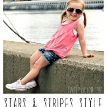 Stars & Stripes Style - 4th of July Fashion - Girls