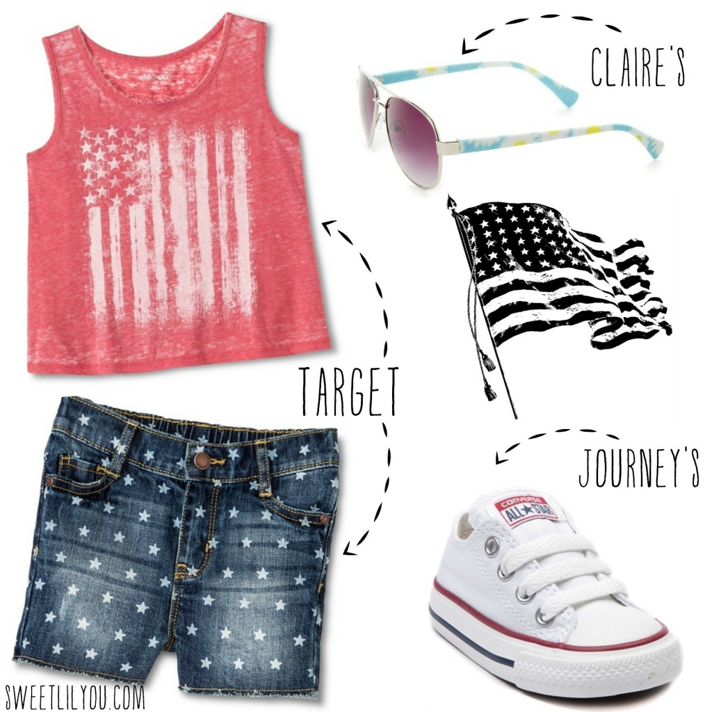 Stars and Stripes Style for girls