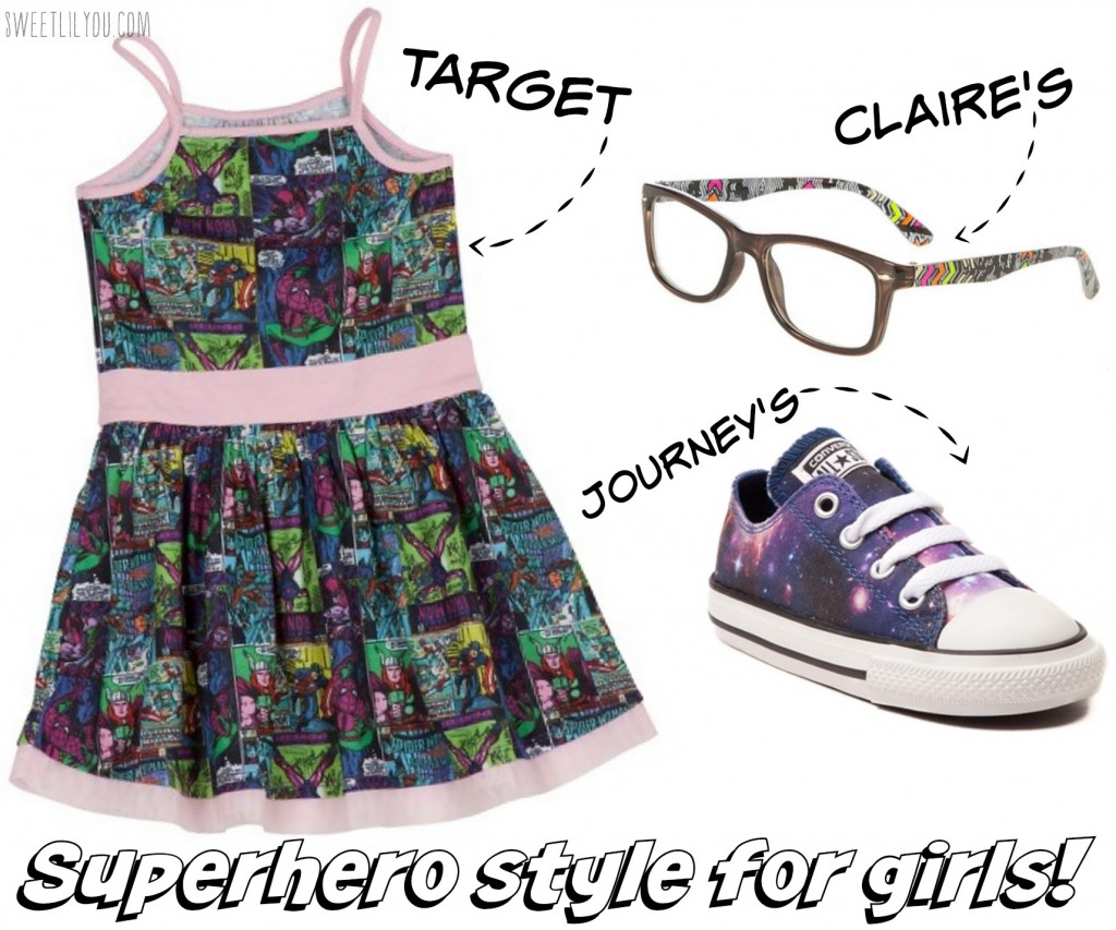 Superhero Style for girls available at Target
