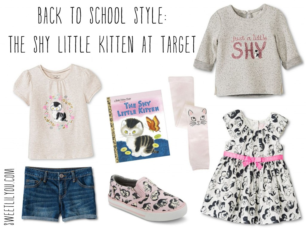 Shy Little Kittn apparel at Target