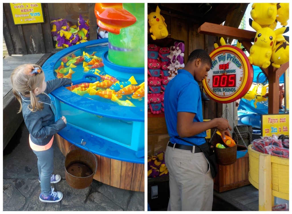 Games at Six Flags New England