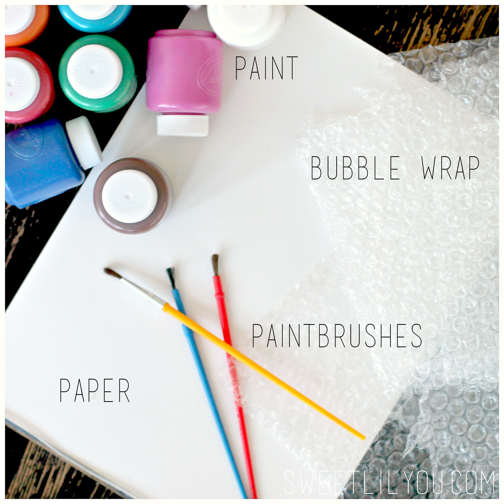 Bubble Wrap Printing Creative Craftiness For The Kiddos