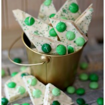 St Patricks Day Chocolate Candy bark