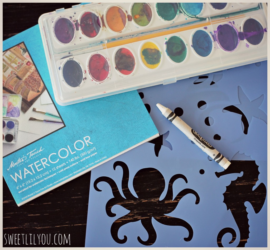 watercolor resist supplies