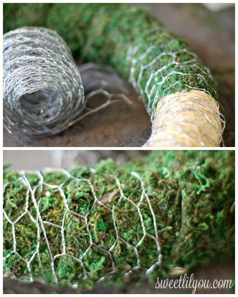 chicken wire wreath