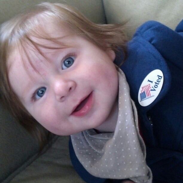 baby I voted election