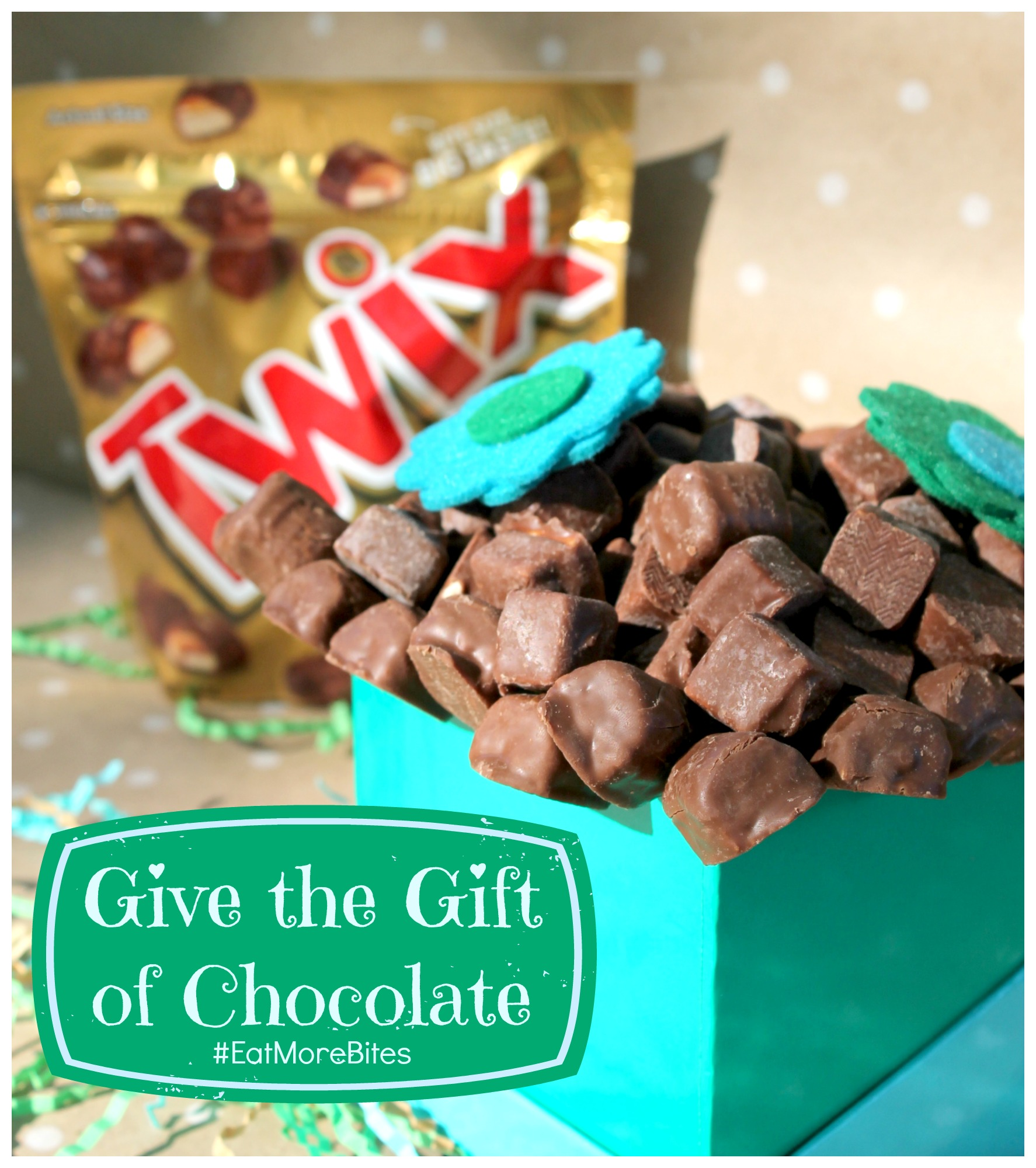 Give the gift of chocolate #eatmorebites twix bites