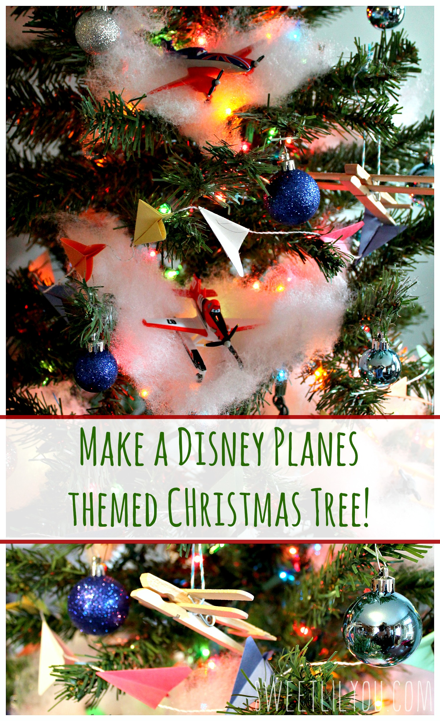 Disney Planes Themed Christmas Tree Planestotherescue Ad Sweet Lil You