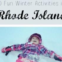 winter activities Rhode Island