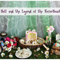 Tinker Bell and the Legend of the NeverBeast party! Birthday party ideas. From sweetlilyou.com