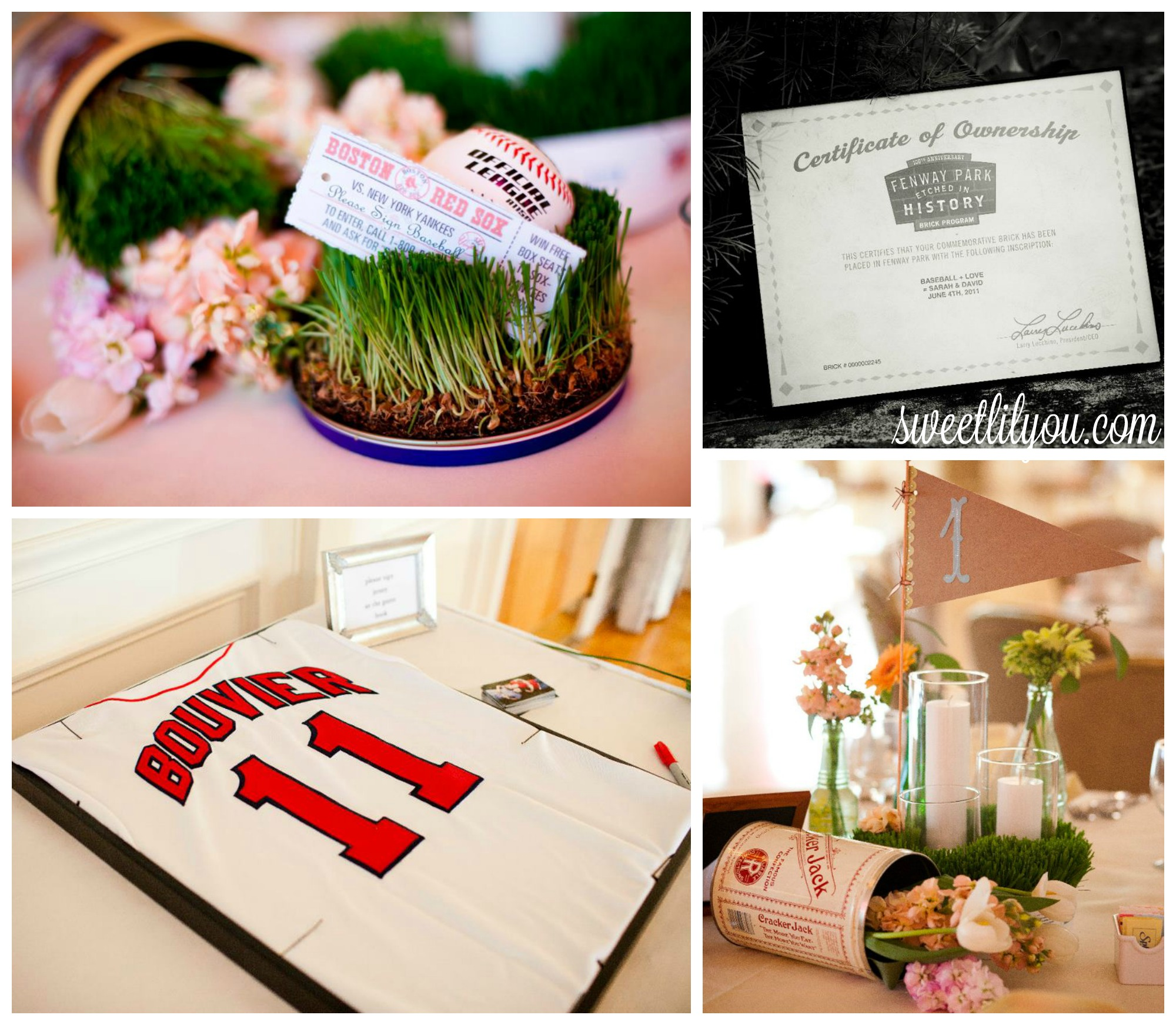 red sox wedding