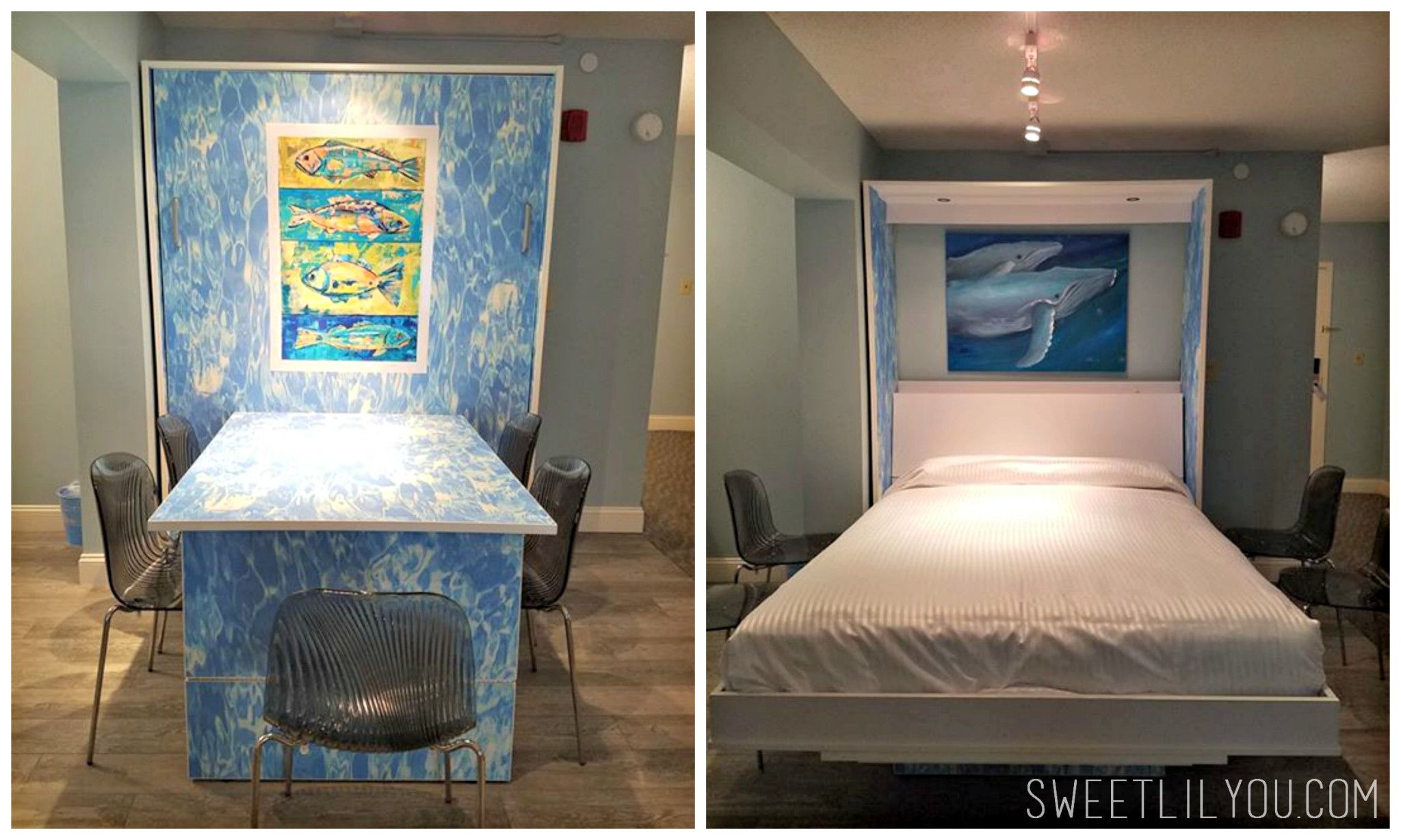 Murphy Bed Cape Codder Family Suites