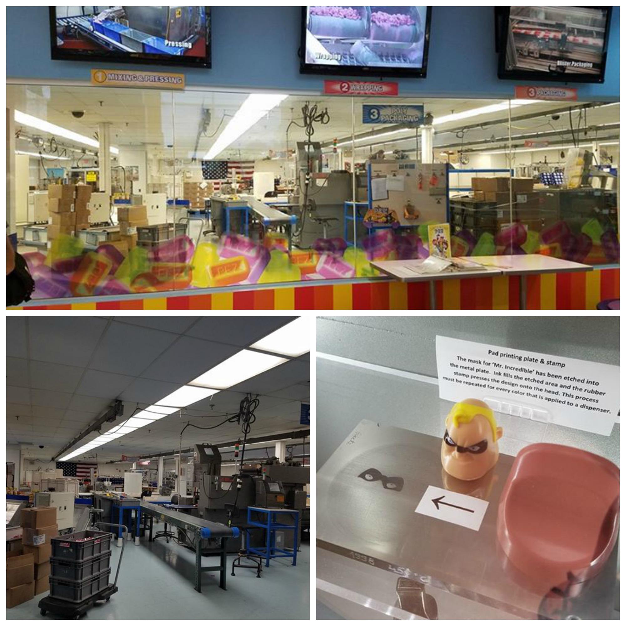 Pez Factory Tour