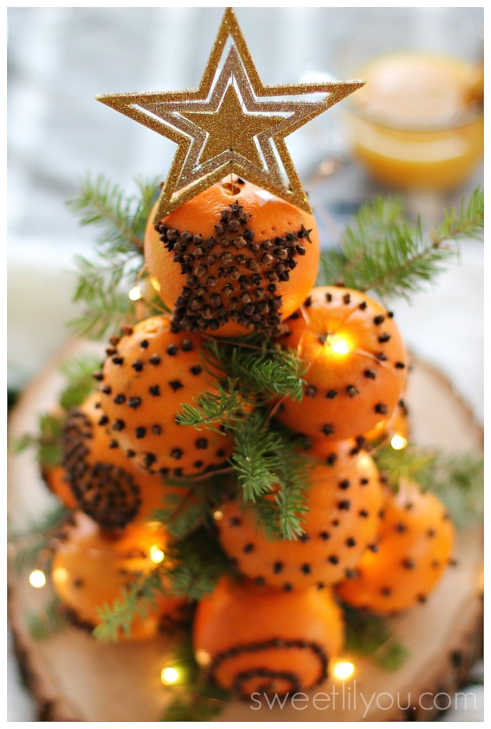 orange christmas tree orange amp white dessert sweet lil you 12223