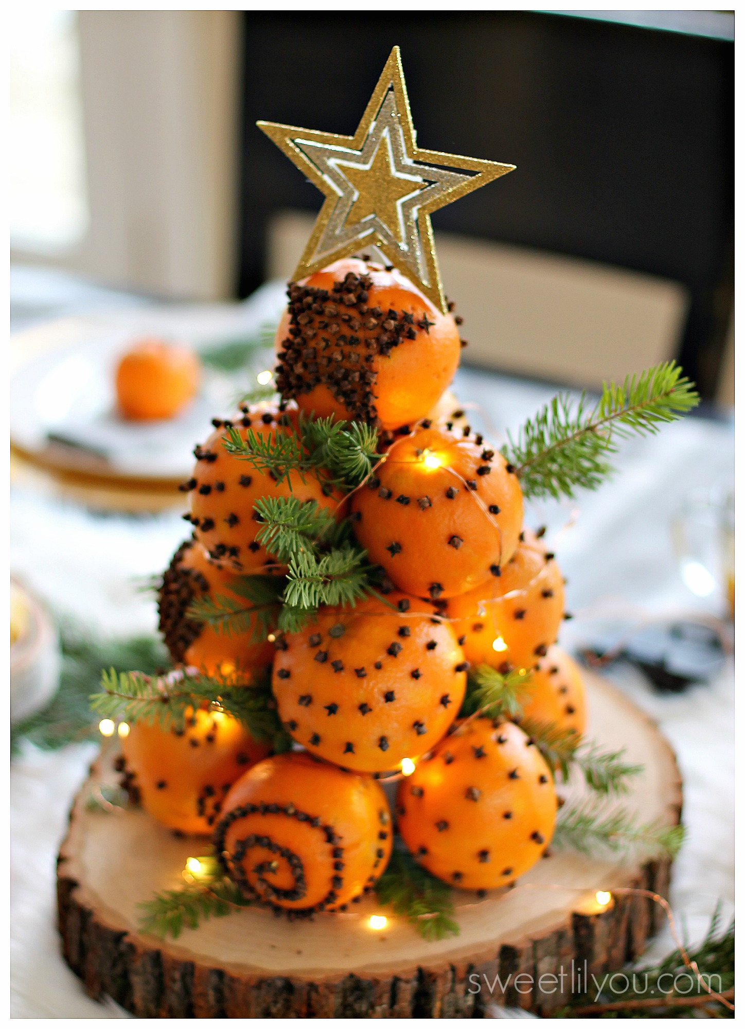 Orange Pomander Balls - A Holiday Tradition