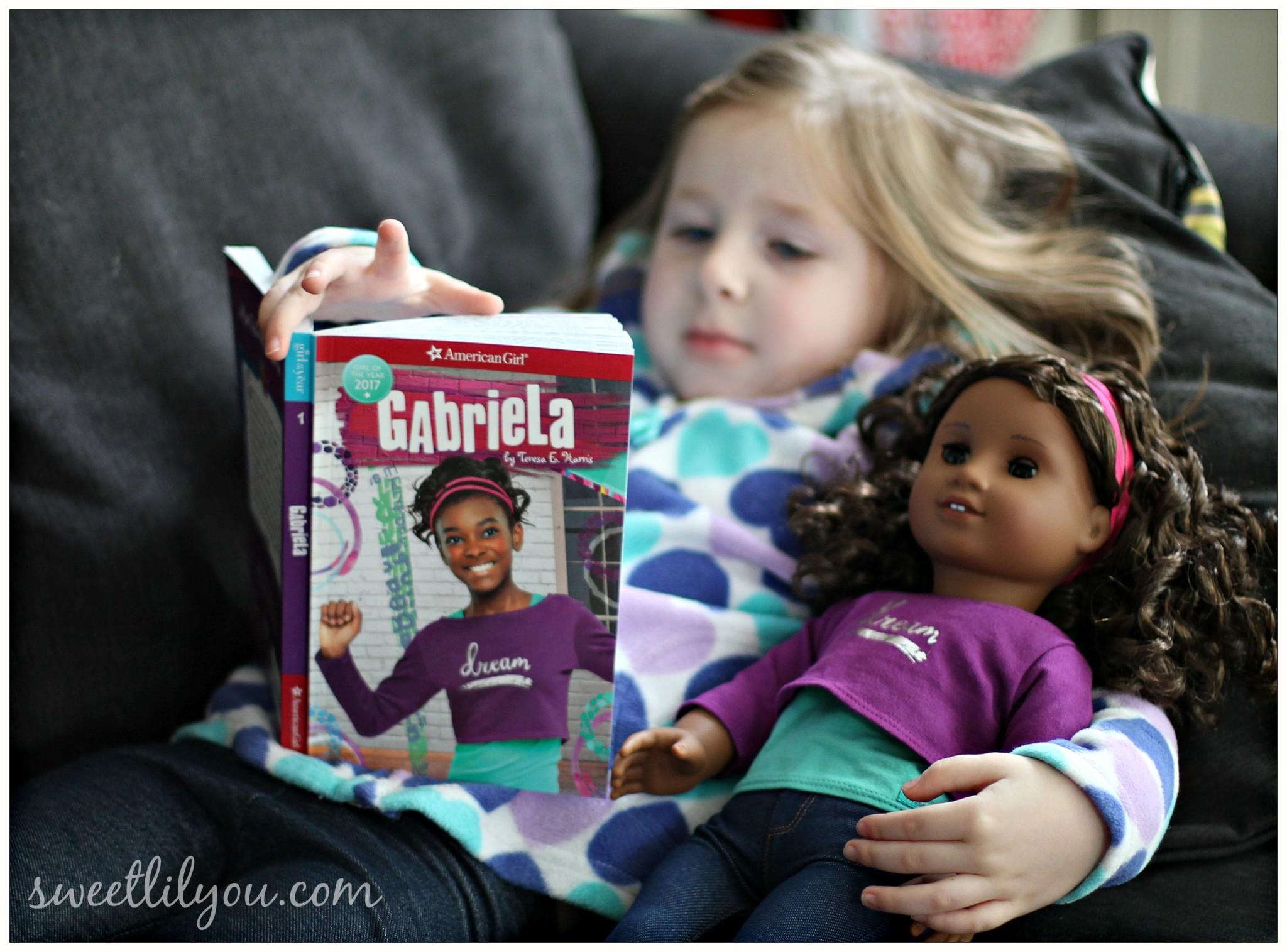 American Girl Doll Gabriela Book