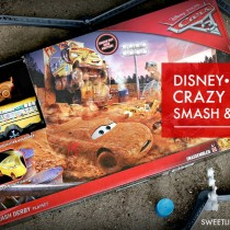 Disney Pixar Cars 3 Crazy 8 Crashers Smash & Crash Derby Playset