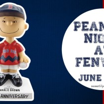 Peanuts Night Fenway Park Boston Red Sox