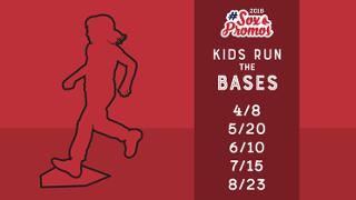 kids run the bases red sox