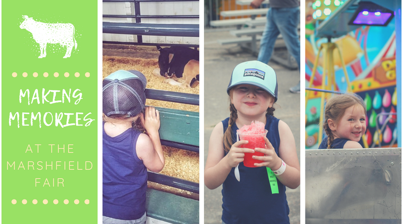 Making Memories at the Marshfield Fair