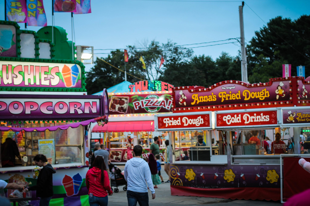 marshfield fair midway food